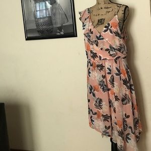 A New Day one shoulder sun dress size large NWT